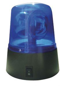 Noodlamp blauw op batterijen 92mm