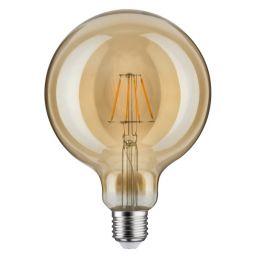 LED Retro-Globe 125 4 W E27 goud warmwit