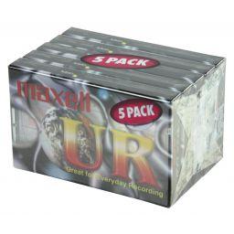 Audiocassette 90 minuten 5 pack