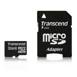 Transcend Micro SDHC geheugenkaart 32GB klasse 10