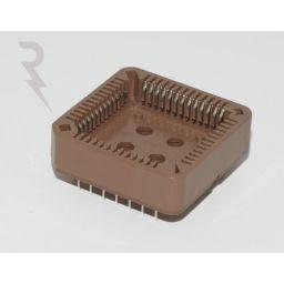 PLCC-voet - 52-polig - Stap : 1,27mm