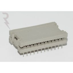 IDC PC-Connector 28-Pole 15,24mm Sn