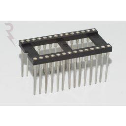 IC-voet 28 pin met Wire-Wrap aansluitingen ***