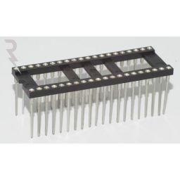 IC-voet 40 pin met Wire-Wrap aansluitingen ***