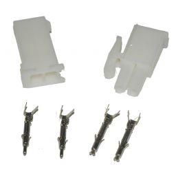 Mini L-connector 1x2