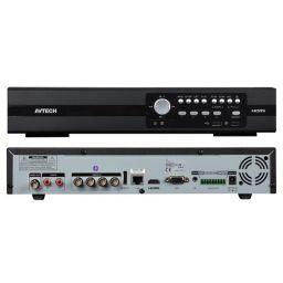 HD cctv-videorecorder - analoge video & hd-tvi - 4 kanalen - eagle eyes - push video/status - ivs - 1080p