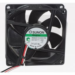 Sunon Ventilator- 12VDC - 80 x 80 x 25mm -76m³/h - 3 draads