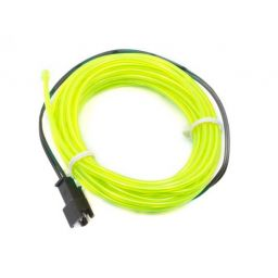 High brightness, long-life EL wire - lengte: 3m - groen