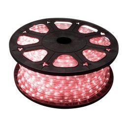LED lichtslang rood - 45m