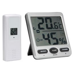 Draadloze thermometer / hygrometer - groot display