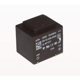 Printtransformator 3VA 6V 500mA