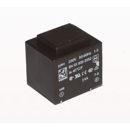 Printtransformator 3VA 12V 250mA