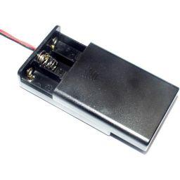 Batterijhouder voor 3AAA cel