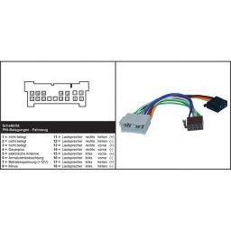 Adapter kabel ISO - Head unit - HYUNDAI, KIA - Voeding + 4 luidsprekers