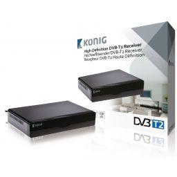 High-definition DVB-T2 ontvanger zwart