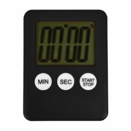 Countdown timer met digitale uitlezing en magneet