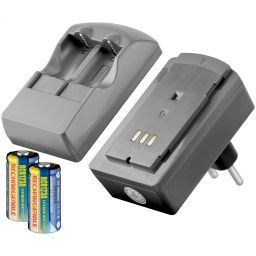 CR123 - batterijlader voor CR123A batterijen