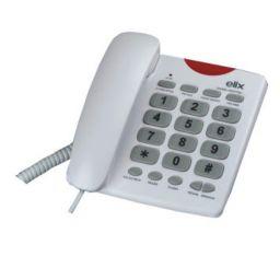 Telefoon met grote toetsen - Wit ***