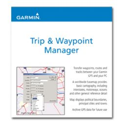 Trip and waypoint manager