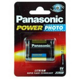 Panasonic Lithium 6V 1600mAh - 34 x 17 x 45mm