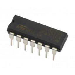 Dual 4 input NOR-gate