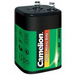 Blokbatterij 6V met veer