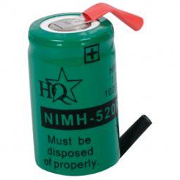 Herlaadbare Batterij - 1,2V 520mAh - 28 x 17,2mm