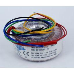 Ringkerntransformator 65VA 2x9V 3,6A