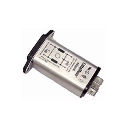 Lijnfilter met IEC plug 3100-6 6A