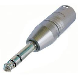 3-polige XLR Mannelijk  6,3mm Stereo Jack Mannelijk - HQ - Neutrik