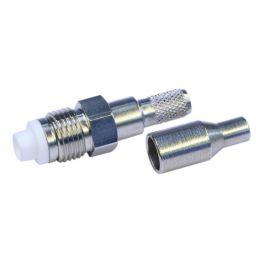 FME connector - vrouwelijk - krimpuitvoering - Voor RG174 (50 Ohm)