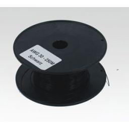 Wire-wrapdraad AWG30 zwart per meter
