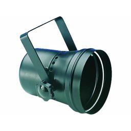 Projector voor PAR 36 lamp - Zwart