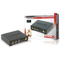 Component naar HDMI omvormer