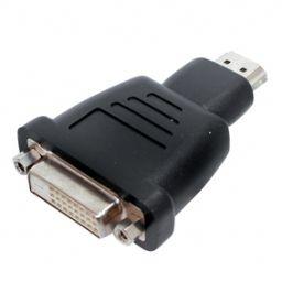 DVI-D vrouwelijk 24+1 HDMI mannelijk