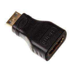 Mini-HDMI mannelijk  HDMI vrouwelijk - Standaard