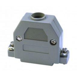 Plastic kap voor 25-polige SUB-D connector - Korte schroeven