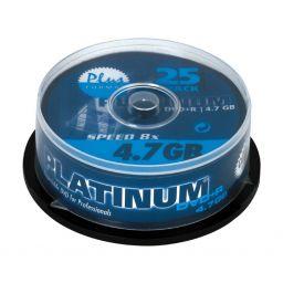 Opneembare DVD+R 4,7GB - 25 stuks