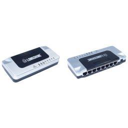 8-poort Ethernet Switch - 10/100Mbits/sec