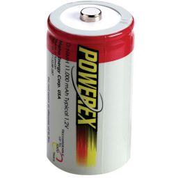Herlaadbare D-batterijen - 1,2V 11.000mAh - NiMH - 2 stuks