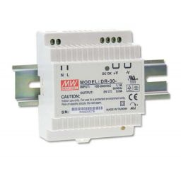 Industriële voeding voor DIN-RAIL - Meanwell - 12V 30W