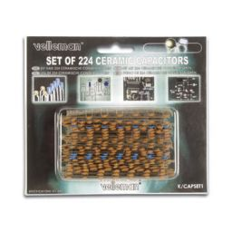 Set keramische condensators - 224 stuks