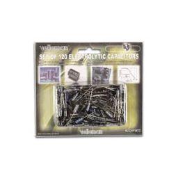 Set elektrolytische condensators - 120 stuks