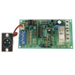 DMX-gestuurde relais