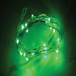Flexibele ledslinger met 30 LEDS - Groen