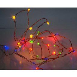 Flexibele ledslinger met 30 LEDS - Multicolor