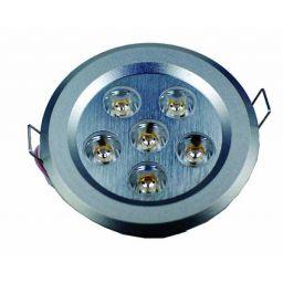 6x1W Ledlamp - 105mm - Koud wit - 230V AC