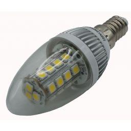Kaarsledlamp - E14 - Klaar - Warm Wit - 230V AC
