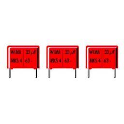 MKT capacitor 15nF 63V 10% P5mm