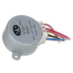 Stappenmotor - 12VDC - 60mA - Hoek 7,5° / 85 stappen